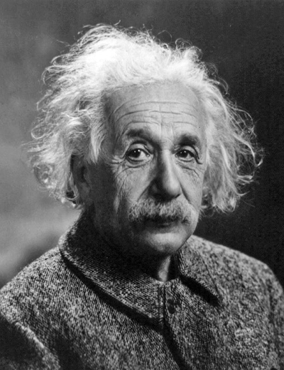 Albert Einstein - astounding theory of relativity and his discovery of the quantum, his thoughtful philosophy.