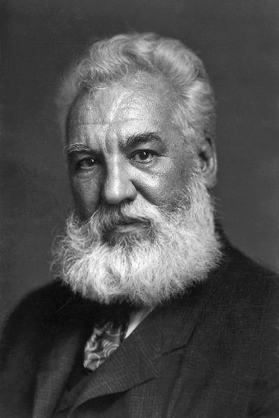 Alexander Graham Bell - A pioneer in the field of telecommunications.