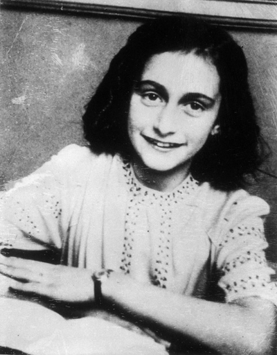 Anne Frank - With a diary kept in a secret attic, she braved the Nazis and lent a searing voice to the fight for human dignity.