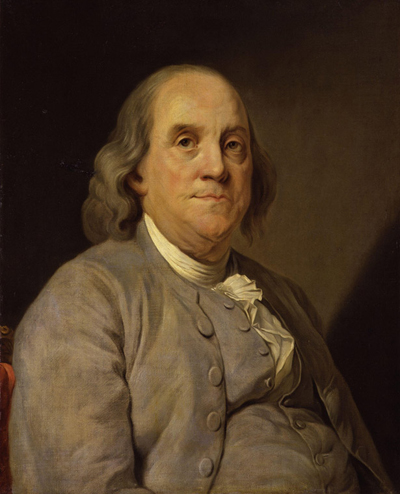 Benjamin Franklin - A printer by trade, a scientist by fame, and a man of action by all accounts
