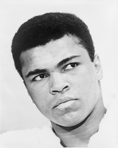 Muhammad Ali - Well known for his fighting style