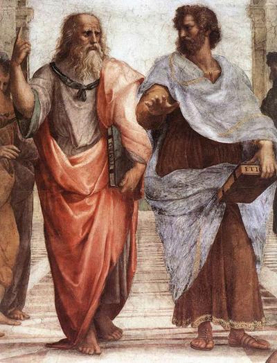 Plato Artistotle