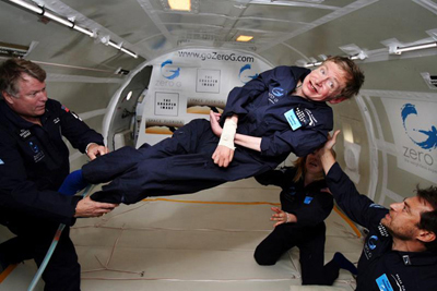 Stephen Hawking - best known for his discovery that black holes emit radiation which can be detected by special instrumentation. His discovery has made the detailed study of black holes possible.