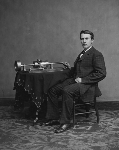 Thomas Edison - An American inventor, scientist and businessman who developed many devices.