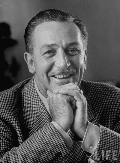Walt Disney - transformed the entertainment industry, into what we know today. He pioneered the fields of animation, and found new ways to teach, and educate.