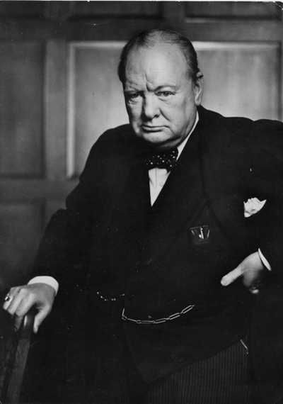 Winston Churchill - The master statesman stood alone against fascism and renewed the world's faith in the superiority of democracy.