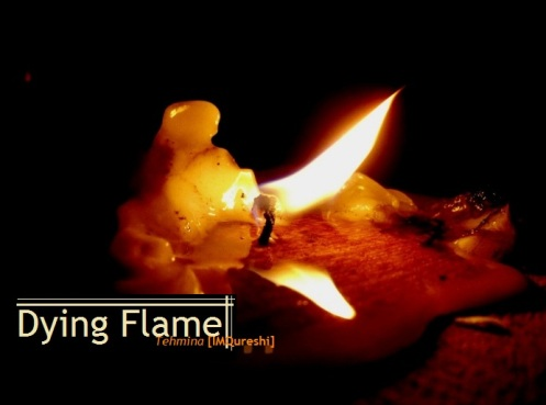 Dying Flame - The dying flame brings a chain reaction.